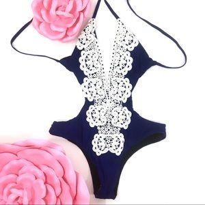 Crochet Lace Bikini